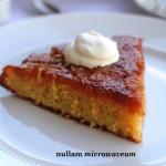 Cake van gekarameliseerde citroenen